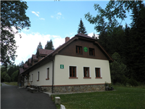 Infozentrum des Sumava Nationalparks am Urwald Boubin<br />Foto: Gerd Simon, Freistadt (A), CC BY-ND